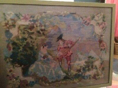 Antique Tapestry Picture