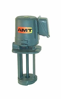 AMT Pump 5390-95 Immersion Coolant Pump Cast Iron 1/4 HP 1 Phase 115/230V Cur...