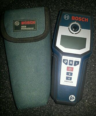 Bosch GMS 120 Professional including Case