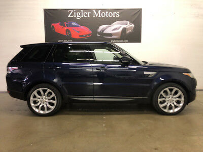 2015 Land Rover Range Rover Sport HSE Sport Utility 4-Door 2015 Range Rover Sport HSE V6 Supercharged 31K *Pristine New*