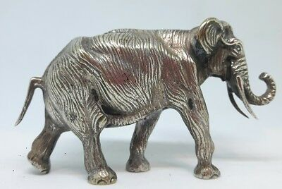 Vintage Silver Plated Elephant