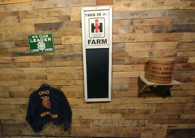 Large 4 Ft.  Retro Style This Is An Ih Farm Tractor Sign Barn Chalkboard