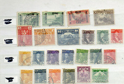 Collection of stamps from  Iraq,old to new 4 pages, FU, nice lot.