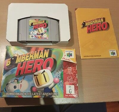 Bomberman Hero (Nintendo 64, 1998)