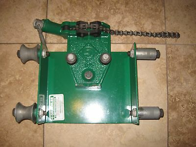 Greenlee 467 Chain Vise Unit From Bender Pipe Bending Table 1813 881CT 28900