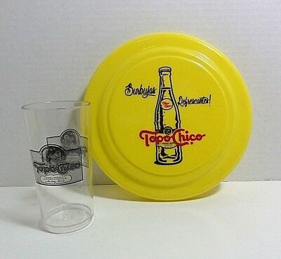 TOPO CHICO Drink Cup & Frisbee