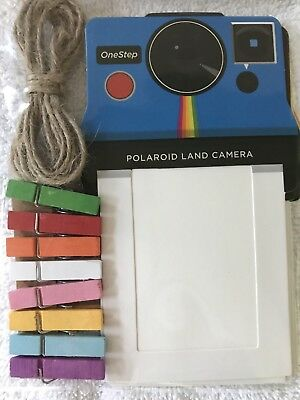 50% to Charity! Polaroid Colorful Vintage Photo Frames for 2x3 Zink Paper - NEW!