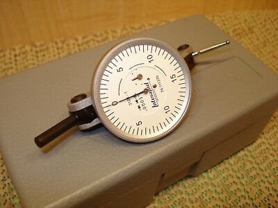 ".0005"" Interapid Dial Test Indicator 312B-1 Mint Swiss Made Machinist Tool"