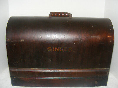 Antique Singer Bentwood Sewing Machine Case Full Size