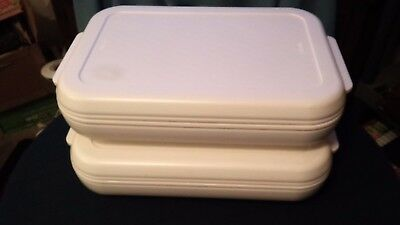 Two Aladdin Tempreserve Hot/Cold Insulated Casserole Dish Carriers #ICC500 ~ USA