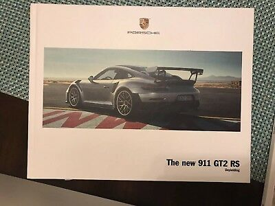 2018 Porsche 911 GT2 RS 45 Page Ltd Edition 9 x11 Hardcover Brochure
