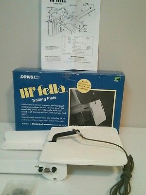 Davis Lil' Fella Trolling Plate Up To 25 Hp Outboard Model 462 COMPLETE in Box!