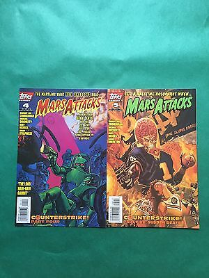 Mars Attacks - (Topps) Issues #4 And #5