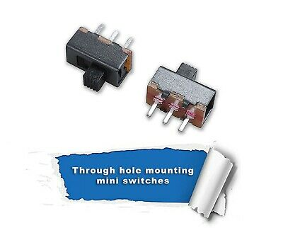 3 Pin 2 Position Mini Size SPDT Slide Switch