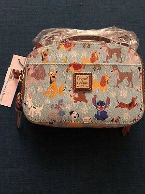 NWT Dooney & Bourke Dogs Round Crossbody Disney Ambler
