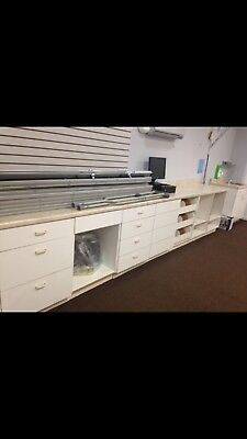 Pharmacy Shelves,Fixtures,Cabinets,Countertop Drawers - NE Philadelphia,PA