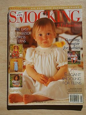 Australian Smocking & Embroidery #38~Dresses~Rompers~Tote Bag~Cardigan