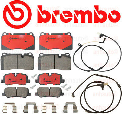 Range Rover SPORT Supercharge BREMBO Front+Rear Pad Kit + Sensors