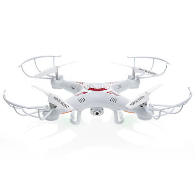 RC 6-Axis Quadcopter Flying Drone Toy With Gyro and HD Camera Remote LED Lights