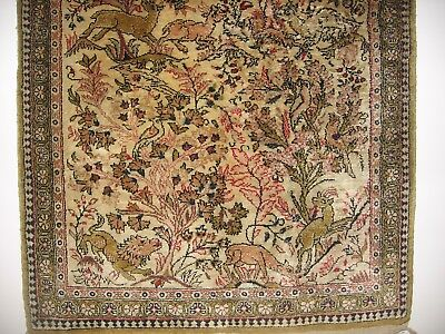 Silk Rug - Genuine with valuation