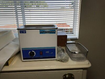 Prosonix PS300H Ultrasonic Cleaner with Basket - .750 gal *READ about basket