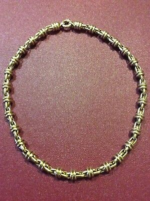 9ct Italian Gold Necklace chain with Euro Bolt Clasp 37.10gms