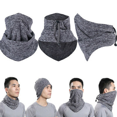2017 Fleece Thermal Neck Warmer Gaiter Face Mask Snood Hat Scarf Winter Sports