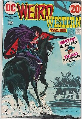 Weird Western Tales # 15 Neal Adams cover and interior art