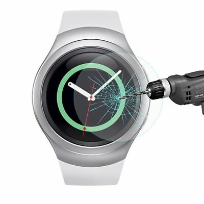 s Tempered Glass Screen Protector for Samsung Galaxy Gear S2 SM-R720 Smart Watch