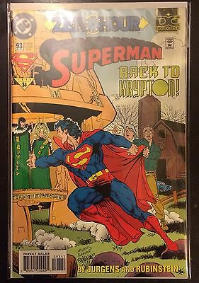 Superman (Vol 2) #93 VF NM- 1st Print DC Comics