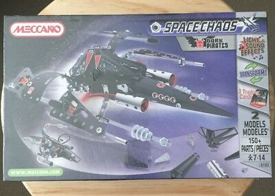 Meccano 6102 Space Chaos Dark Pirates NEW sealed 150+ Pieces