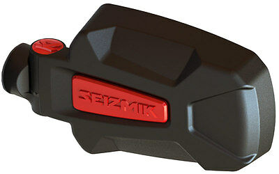 Pursuit Elite HD Aluminum Side Mirrors Red Can-Am Defender HD8 HD10