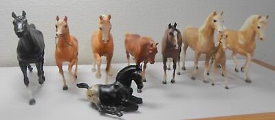 Lot of 9 Assorted Traditional Breyer Horses Nice Gift