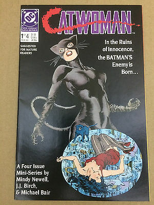 Catwoman #1-#4 Complete Story Lot Set (Feb 1989, DC) GREAT GIFT! COMBINE SHIP!