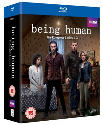 Russell Tovey, Lenora Crichlow-Being Human: Complete Series 1-3  Blu-ray NUEVO