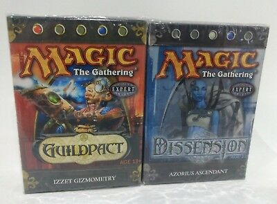 2 X Magic the Gathering MTG Guildpact  & Dissension Theme Deck * New and Sealed