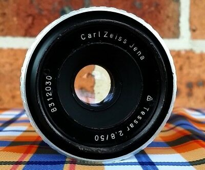 CARL ZEISS  M42 mount 50MM F2.8 lens