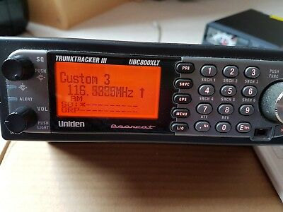 Uniden Bearcat UBC800XLT GPS Enabled Scanner - in Excellent Condition