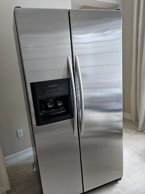 KITCHENAID SIDE BY Side Stainless Steel Refrigerator/Freezer ...