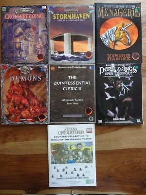 Mongoose Publishing and outher -NEW unused Condition D&D 3rd Edition, d20 System