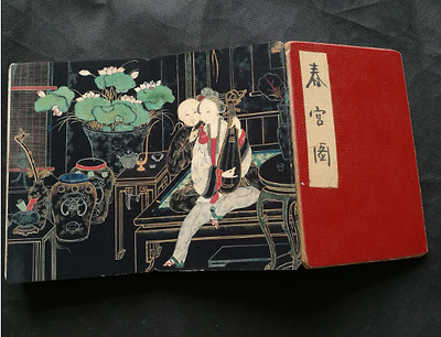 Shunga ancient Painting Erotic lust Westerners Body old book art Picture album
