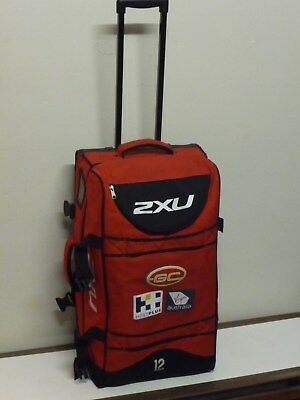 Large Player Issue AFL Gold Coast Suns Travel Bag - Not Guernsey Jersey Jumper
