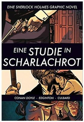 SHERLOCK HOLMES Eine Studie in Scharlachrot GRAPHIC NOVEL Comic PIREDDA VERLAG