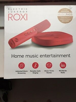 Electric jukebox Roxi home entertainment music system - brand new and unopened