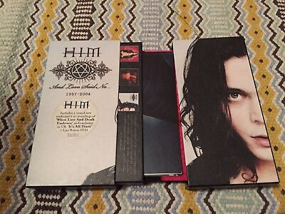 Him Band Cb Album Limited Card Box Case with poster - and love said no