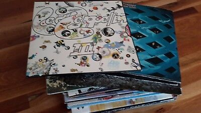 Vinyl: 40 Alben in gutem Zustand - Who, Led Zeppelin, Eagles, Joe Walsh ....