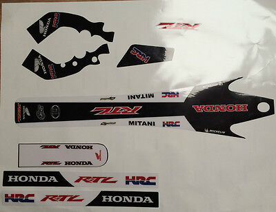 Montesa Cota 315R Honda RTL Style ,  Decal / Sticker Set Thick Moto-X Material
