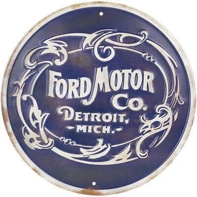 Ford Motor Company Metal Nostalgia Retro Sign, Vintage Art Wall Decor for Home
