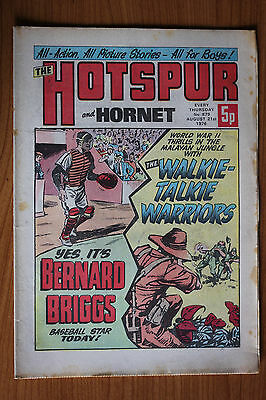 The Hotspur and Hornet Comic from 1976 Issue #879