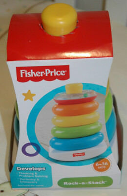 Fisher Price Rock A Stack - Baby Toddler Activity Toys Girl Boy